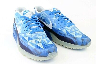 super popular d7fd3 47d0b Nike Air Max 90 Blue White Mens Sneakers Size 11.5 631748-401 Basketball  Shoes