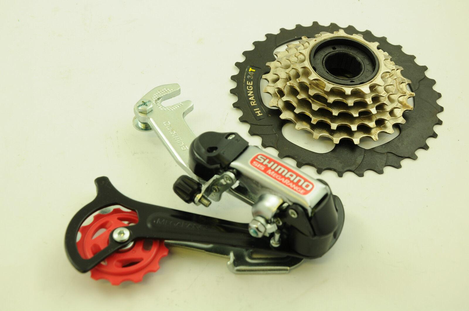 lower range gear set for your bike shimano megarange 6 speed mech freewheel eur 11 62