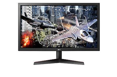 "LG 24GL600F-B UltraGear 23.5"" Gaming Monitor, RADEON FreeSync, 144 Hz, 1ms Resp"