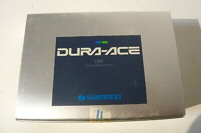 Shimano HB-7400 Dura Ace 32h British 1.37 x 24 thread 6 speed hub set