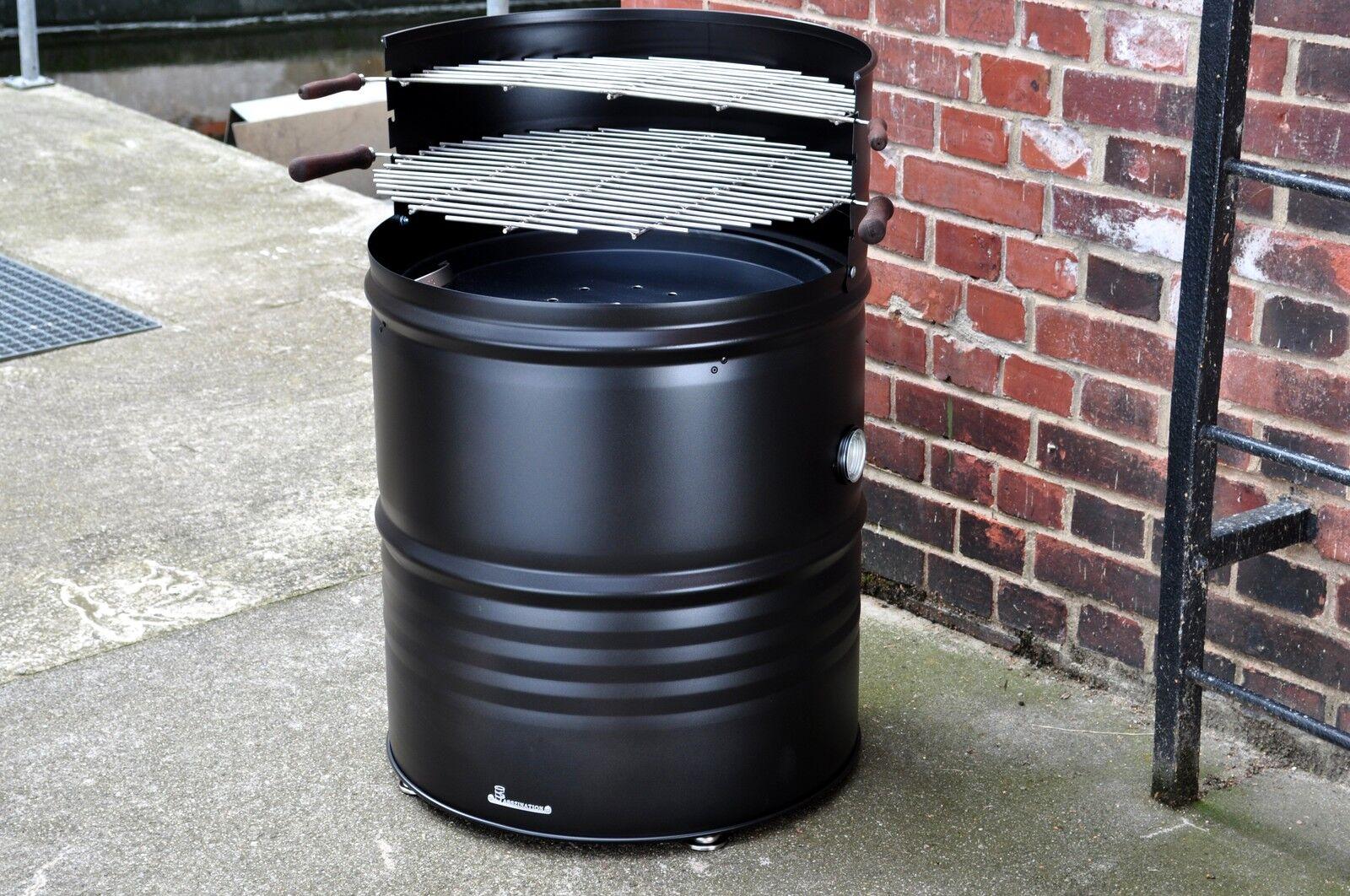 grillfass lfass grill aus 200 liter neu fass. Black Bedroom Furniture Sets. Home Design Ideas