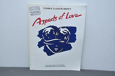 Aspects Of Love Vocal Selections Sheet music – Paperback 1989