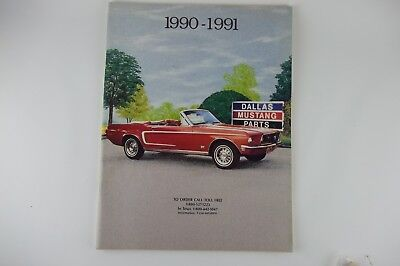 1990-1991 Dallas Mustang Parts Accessories Catalog, Classic Ford (1990 Ford Mustang Parts)