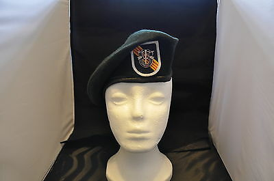U S Army 5Th Special Forces Group Green Beret Special Ops Vietnam Size 7 1 4 Mil