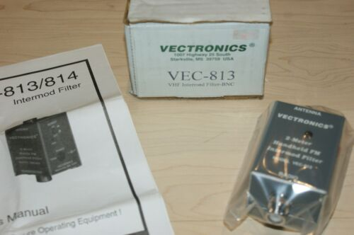 Vectronics VEC-813 VHF Intermod Filter BNC New