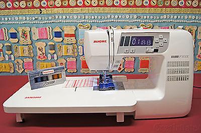 JANOME 230 DC Computer Nähmaschine - Limited CreArtista Jeans Edition