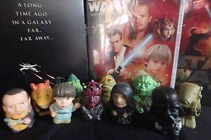 Star Wars Phantom Menace Figurines - Set of 10 - NEW Greenwood Joondalup Area Preview