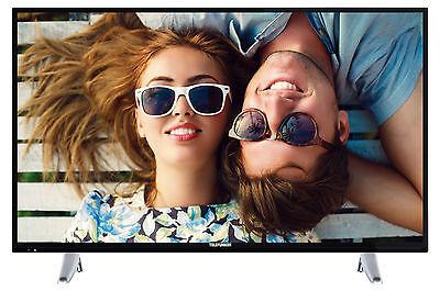 Telefunken D40F286X4CW LED Fernseher 40 Zoll Full HD Smart TV Triple-Tuner WLAN