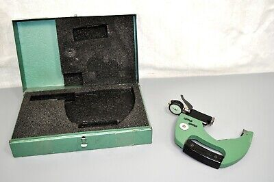 Federal Dial Indicator Snap Gage 3-4 Plain Anvil Range Od Check Inspection Tool