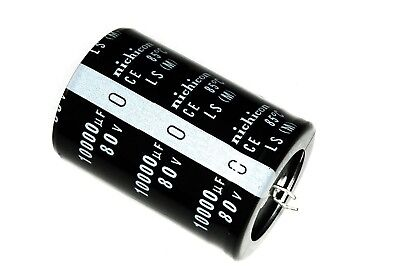 10000uf 80v 35x50mm Capacitor Electrolytic Audio 10000 Uf Mfd 10000mfd 80 Volt