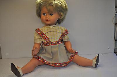 alte Schildkröt Puppe  - Sprechpuppe  ca.  60 - er Jahre