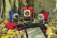 Folding Camera 4x5-8x10-10x12 Inc + 1chaissi X Film Or Collodion Photography -  - ebay.it
