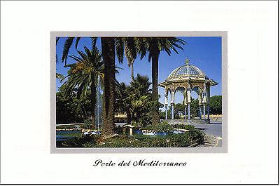 CARTOLINA SICILIA SICILY POSTCARD CALTAGIRONE GIARDINO PUBBLICO