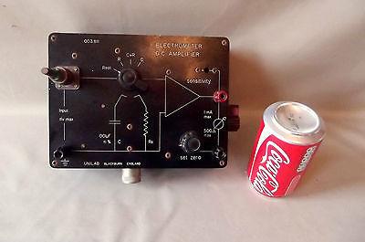 ELECTROMETER DC AMPLIFIER, VINTAGE {PHYSICS} BY UNILAB