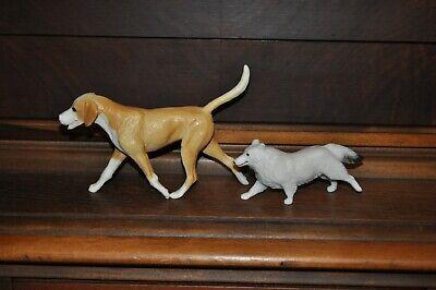 Breyer Dog Shetland Sheepdog & Fox Hound Companion