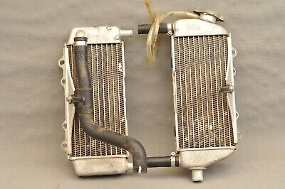 2004 Kawasaki Kx250 Kx 250 Left Right Radiator Set Cooling Cooler