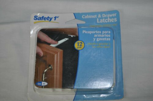 Safety 1st Adhesive Cabinet & Drawer Latches (12-Pack)