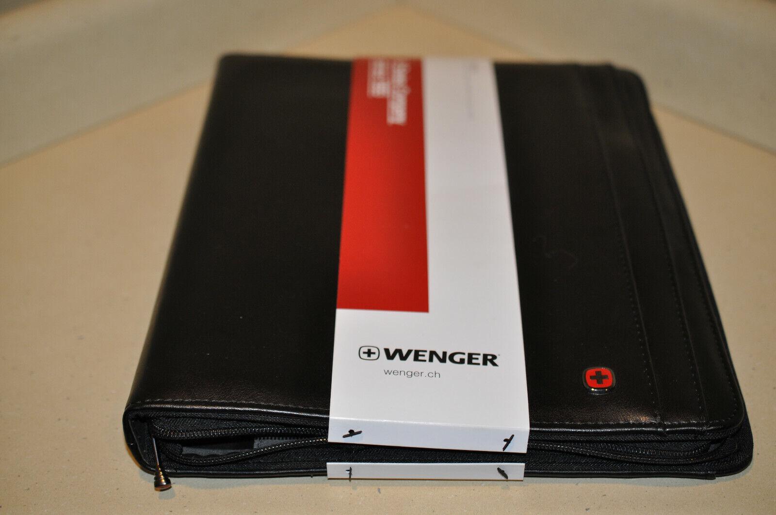 Wenger Swiss Gear Venture Zippered Padfolio with Hideaway Ha