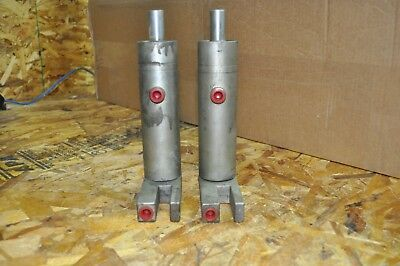 Lot Of 2 Grossel Tool 41-99-200-08 Hydraulic Cylinders 2 Stroke Used