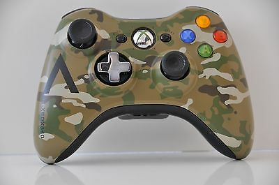 Official Microsoft xbox 360 Wireless Controller Camo Camouflage