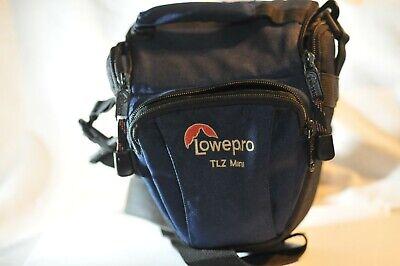 LowePro TLZ Mini camera bag Blue from 90's for Canon EOS Nikon Sony SLR DSLR