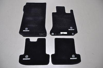 BRABUS Fußmatten 4-Teilig für Mercedes Benz E-Coupe C207 ( RHD )