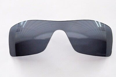 OAKLEY BATWOLF GREY POLARIZED REPLACEMENT LENS *AUTHENTIC* 43-357 SMOKED NEW