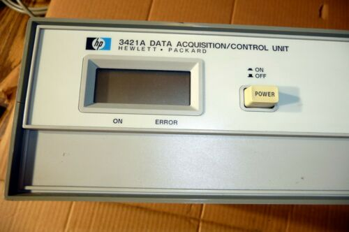 AGILENT HP 3421A  with hpib opt 201  data acquisition / control unit