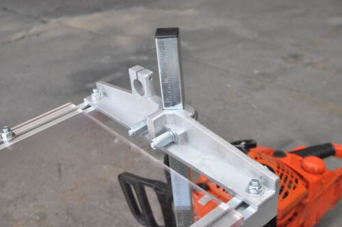 """Portable & Collapsible 20"""" Chain Saw Mill - Clamp on your Saw & Make Lumber!"""