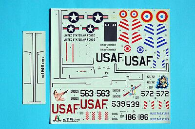 Italeri C-119 C Flying BoxcarI it1146 Decal Istruzioni Libretto