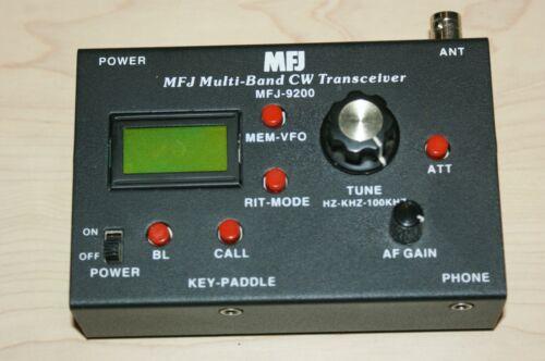 MFJ-9200 Multi-Band CW Transceiver w/40 Meter Module + AC Adapter
