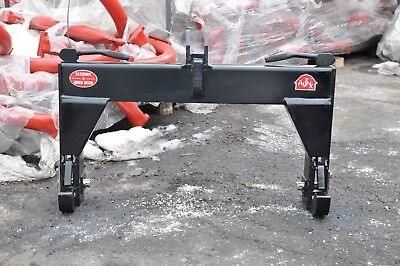 Tool Tuff 3-point Tractor Quick Hitch Category Cat 3 Farm Implement Attachment