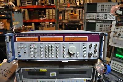 Rohde Schwarz Smg 1ghz Signal Generator Opt 1 And 2 Works Well
