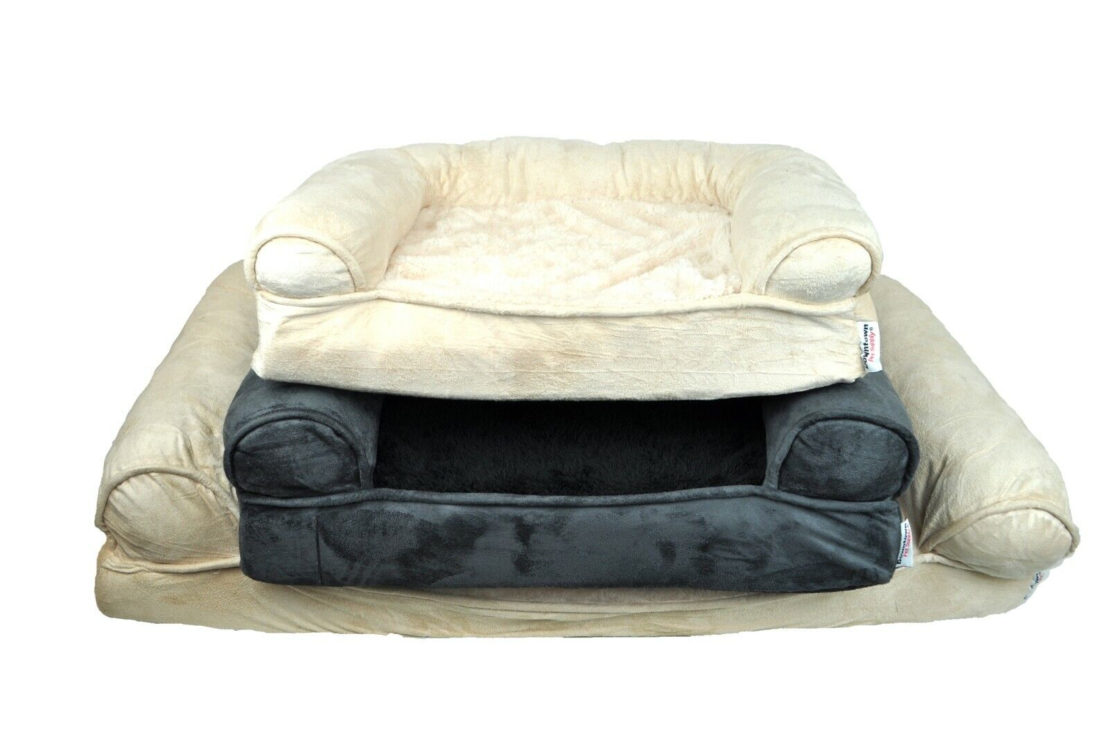 Orthopedic Dog Sofa Bed Comfortable Pet Sofa Style Great for
