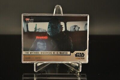 Topps NOW - Star Wars The Mandalorian Season 1 Chapter 1 Complete Set (#1-5)