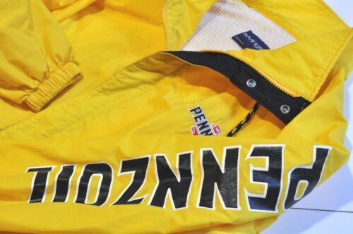 Vintage Swingster Pennzoil yellow Mens XL jacket made in USA
