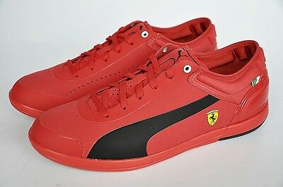 Puma Schuhe DRIVING POWER LIGHT LOW SF Ferrari Sneaker rosso rot Gr. 40 NEU - Driving Sneaker