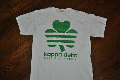 Used, t-shirt medium kappa delta texas tech university sorority 21.5 inches pit to pit for sale  Shipping to Canada