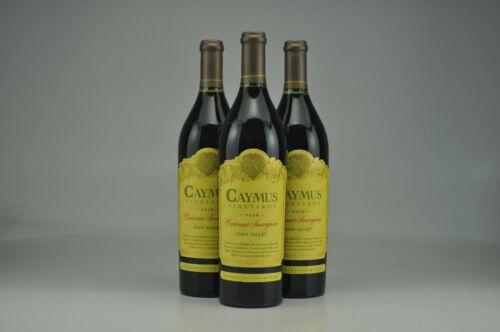 3 Bottles 2018 Caymus Cabernet Sauvignon 1.0 L