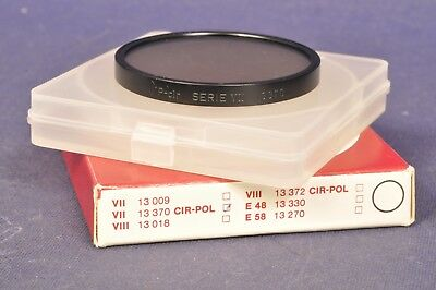 Serie Vii Filter (Leitz Wetzlar 13370 Pol Filter Polarizer Serie VII Einlegefilter - Germany OVP)