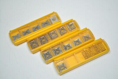 New Lot Of 16 Kennametal Carbide Square Inserts Snms432 Grade - Kc850 K68