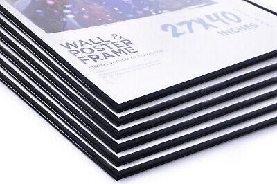 (6) SIX 27x40 Movie Poster Frames Value Pack (6 Frames) BASIC EVERYDAY FRAMES