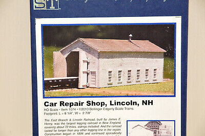 HO 1074 BEST Bollinger Edgerly Car Repair Shop Lincoln NH Kit, Out Of