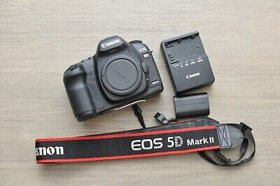 Canon EOS 5D Mark II 21.1MP Camera Shutter: 167k US Model Multi Lang