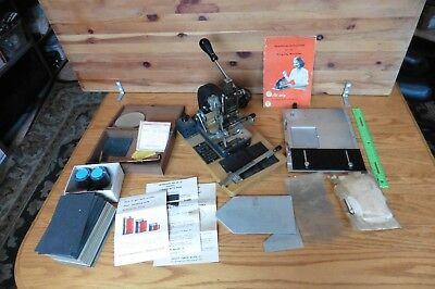 Kingsley Hot Foil Stamping Machine Vintage Accessories