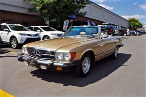 1984 Mercedes-Benz SL-Class 380SL, WITH HARD TOP