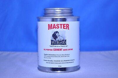 Petronios Master All Purpose Contact Cementglue Adhesive Shoe Repair 8 Oz.