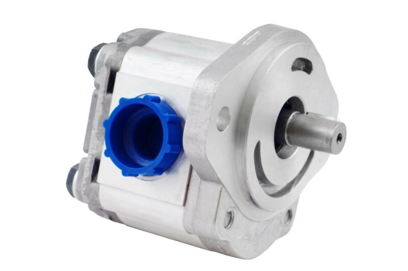"""Hydraulic Gear Pump 2-10 GPM 3/4"""" Keyed Shaft SAE A-2 Bolts CCW Aluminium NEW"""