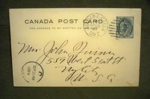 Hon John Quinn PC Canada Sep 25 1901 to NYC US To Mrs John Quinn From Grandchild