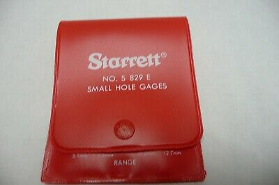 Starrett S829ez Hole Gage Set New Empty Plastic Case Only For 829 Gauges